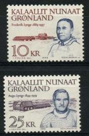 Groenland, michel 209/10, xx