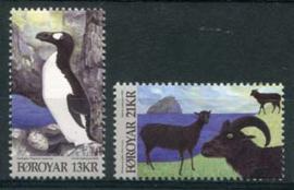 Faroer, michel 745/46, xx