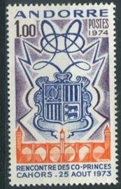 Andorra Fr., michel 260, xx