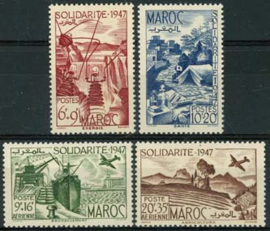 Marokko, michel 273/76, xx