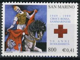 S.Marino, michel 1855, xx
