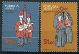 Azoren, michel 362/63 , xx