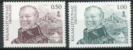 Groenland, michel 585/86, xx