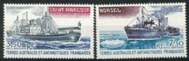 Antarctica Fr., michel 155/56, xx