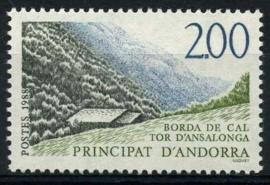 Andorra Fr., michel 393, xx