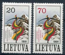 Litouen , michel 484/85 , xx