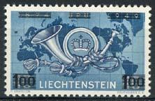 Liechtenstein, michel 288, xx