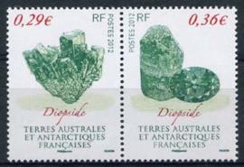 Antarctica Fr., michel 754/55, xx