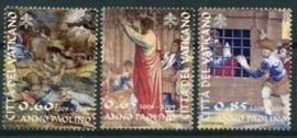 Vatikaan, michel 1619/21, xx
