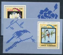 Cuba, michel blok 79/80, xx