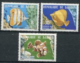 Djibouti, michel 231/33, xx