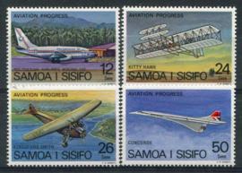 Samoa, michel 366/69, xx