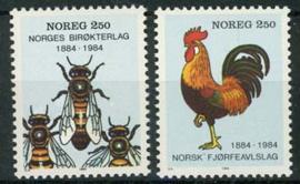 Noorwegen, michel 908/09, xx