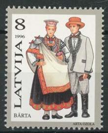 Letland, michel 424 , xx