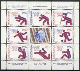 Joegoslavie, michel kb 2075/82, xx