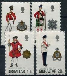 Gibraltar, michel 321/24, xx