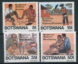 Botswana, michel 392/95, xx