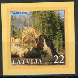 Letland, michel 665, xx