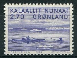 Groenland, michel 136, xx