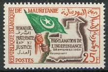 Mauretanie, michel 177 , xx