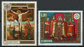 Andorra Fr., michel 264/65, xx