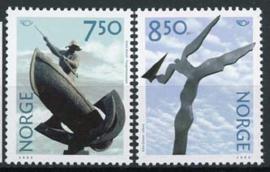 Noorwegen, michel 1430/31, xx