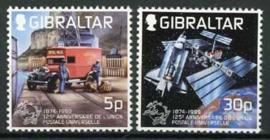 Gibraltar, michel 886/87, xx