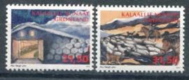 Groenland, michel 672/73, xx