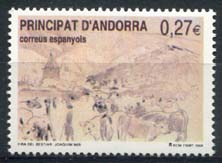 Andorra Sp., michel 310, xx