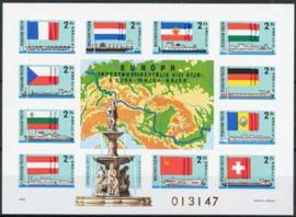 Hongarije, michel blok 128 B, xx