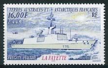 Antarctica Fr., michel 451, xx