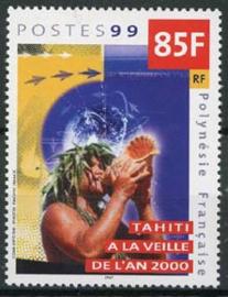 Polynesie, michel 809, xx
