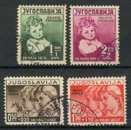 Joegoslavie, michel 366/69, o