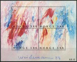 Noorwegen, michel blok 11, xx