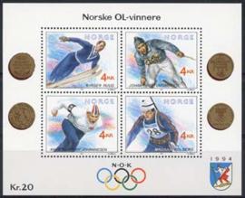 Noorwegen, michel blok 16, xx