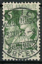Zwitserland, michel 117 , o