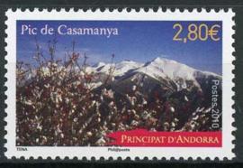 Andorra Fr., michel 710, xx