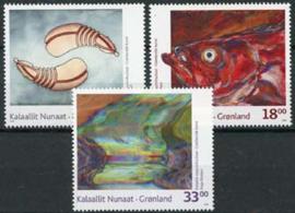 Groenland, michel 537/39, xx
