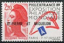 St.Pierre, michel 561, xx