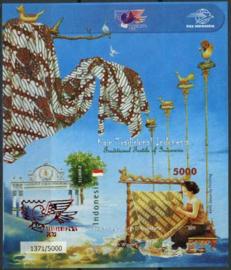 Indonesie, zbl. blok 291, xx