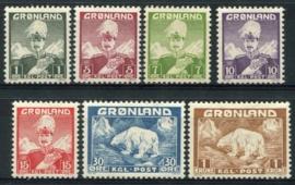 Groenland, michel 1/7, x/xx