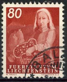 Liechtenstein, michel 298, o