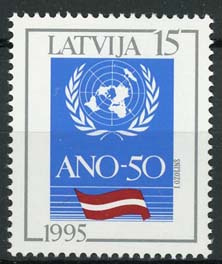 Letland, michel 394, xx