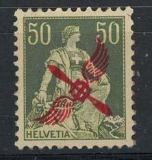 Zwitserland, michel 145, x