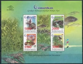 Indonesie, zbl. blok 293, xx