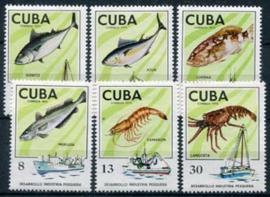 Cuba, michel 2030/35, xx