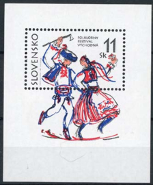 Slowakije, michel blok 8, xx
