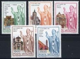 Vatikaan, michel 1046/50, xx