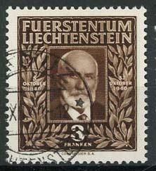 Liechtenstein, michel 191, o