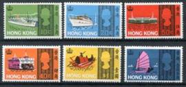 Hong Kong, michel 232/37, xx